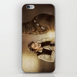 Han and Chewie iPhone Skin