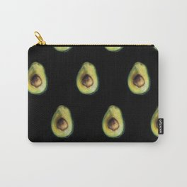Avocado Painting by Brooke Figer Carry-All Pouch