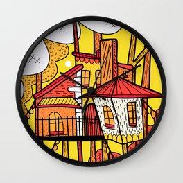 The tree house  Wall Clock