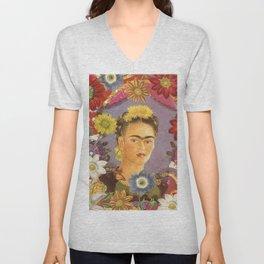 Frida Kahlo IX Unisex V-Neck