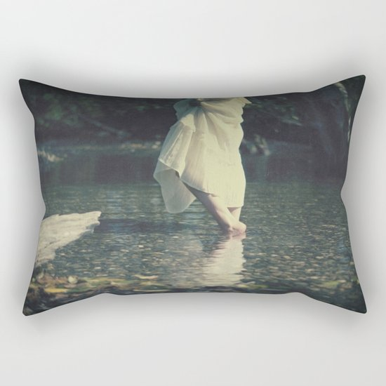 water walk Rectangular Pillow