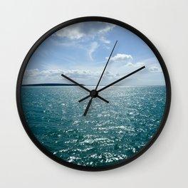 Hervey Bay- Queensland Australia Wall Clock