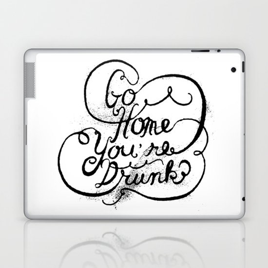 GO HOME Laptop & iPad Skin
