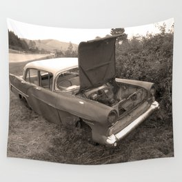 1957 Vauxhall Victor - dead cars series 102 Wall Tapestry