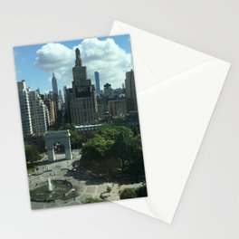 West Village NYC Skyline Stationery Cards