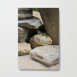 Holey Stone Metal Print
