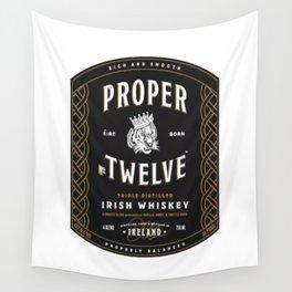 Proper Twelve Irish Whiskey Logo Wall Tapestry