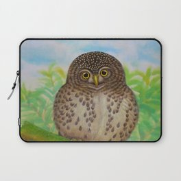Collared Owlet Laptop Sleeve