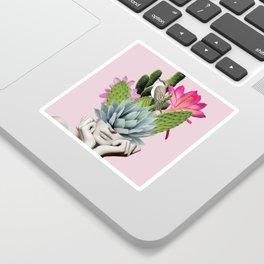 Cactus Lady Sticker