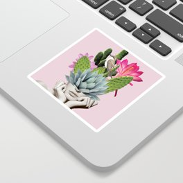 Cactus Lady Sticker