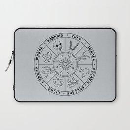 Pagan Calendar Line Laptop Sleeve