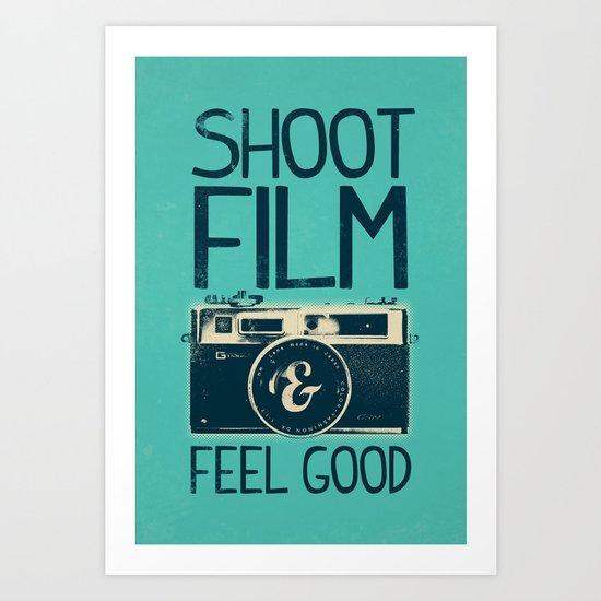 Shoot Film Art Print