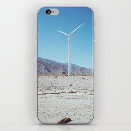 Palm Springs Windmills III iPhone Skin