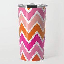Retro Rainbow Travel Mug