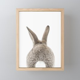 Bunny Tail Framed Mini Art Print