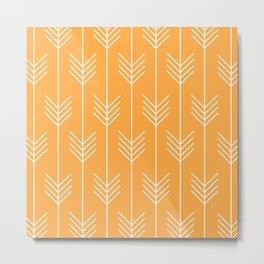 BELLE ((funky orange)) Metal Print