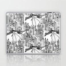 Dragon Kingdom Winter Toile Laptop & iPad Skin