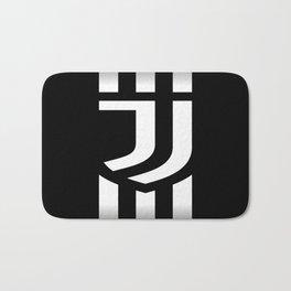 Juventus Football Club in Turin Italy Bath Mat