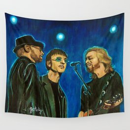 Bee Gee's Wall Tapestry