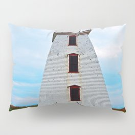 Lighthouse of Cape Egmont and the Strait Pillow Sham