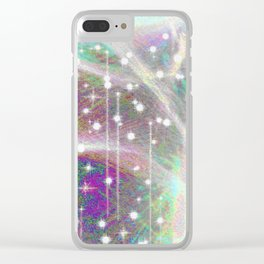 Create wonders that will make the world tremble. Clear iPhone Case