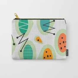Mid-century abstraction Carry-All Pouch