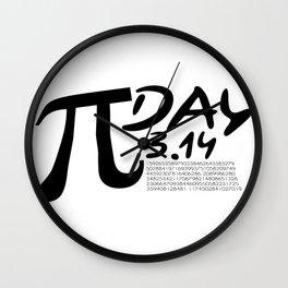 Funny Pi Day Love Math Gifts Wall Clock