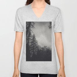 Murky Conifers Unisex V-Neck
