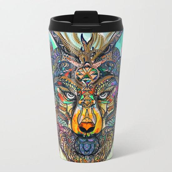 Aligning Hearts Metal Travel Mug