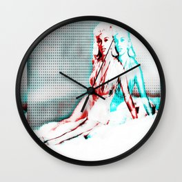 Out of Body Experience Pin Up Wall Clock