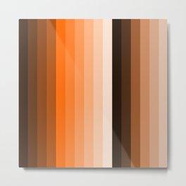 stripes modern decor Metal Print