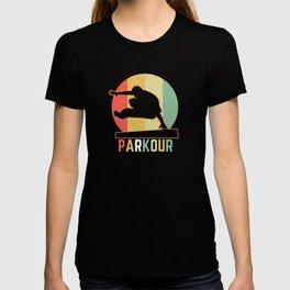 Retro Parkour Freewheel Gift Freerunner T-shirt
