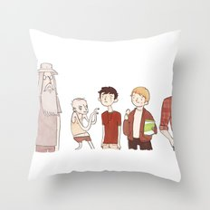 The Broship of the Ring Throw Pillow