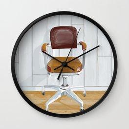 Desk chair Wall Clock