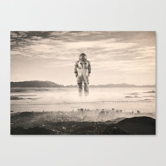 The Unwanted Giant Canvas Print