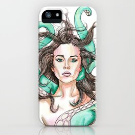tentacle woman iPhone Case