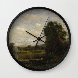 Arthur Parton - Summer Afternoon Wall Clock