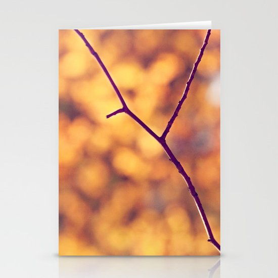 Autumn Branch Stationery Cards