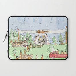 The Mountian. Laptop Sleeve