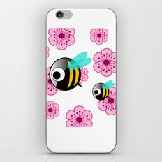 The first Bee Buzz of Spring iPhone & iPod Skin