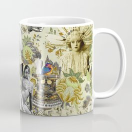 The Muse is Here Coffee Mug