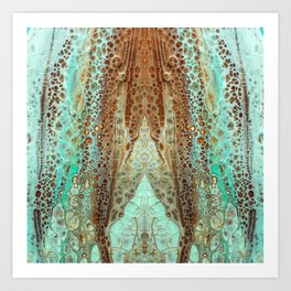 mirror1 Art Print