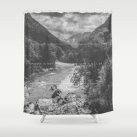 happiness Shower Curtains featuring Happiness by Alluvion Designs