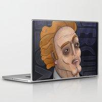 hercules Laptop & iPad Skins featuring 21st Century's Hercules by Gülce Baycık