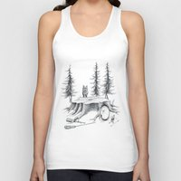 teen wolf Tank Tops featuring Teen Wolf by xxdanaja