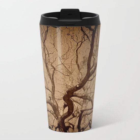 Haunted Tree Metal Travel Mug