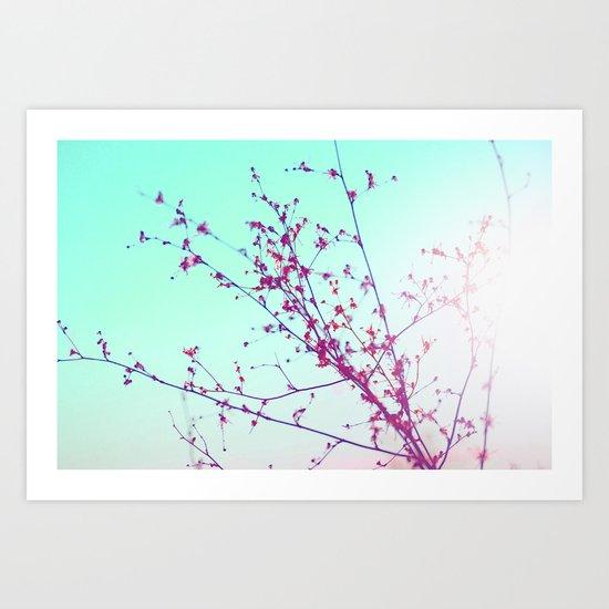 Lovely Days  Art Print
