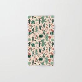 Succulent Desert Hand & Bath Towel