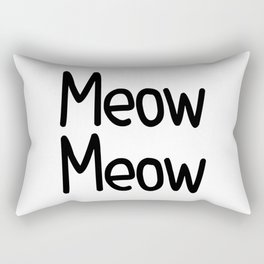Meow Meow Rectangular Pillow