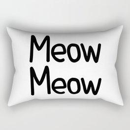 Meow Meow Rectangular Pillow